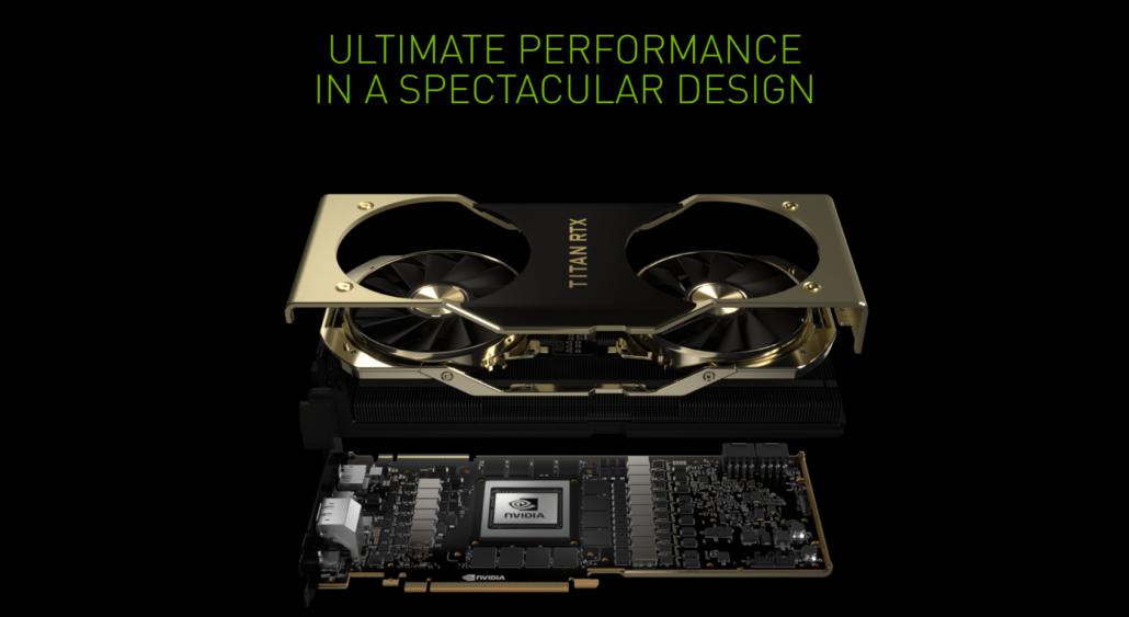 NVIDIA TITAN RTX TURING GPU
